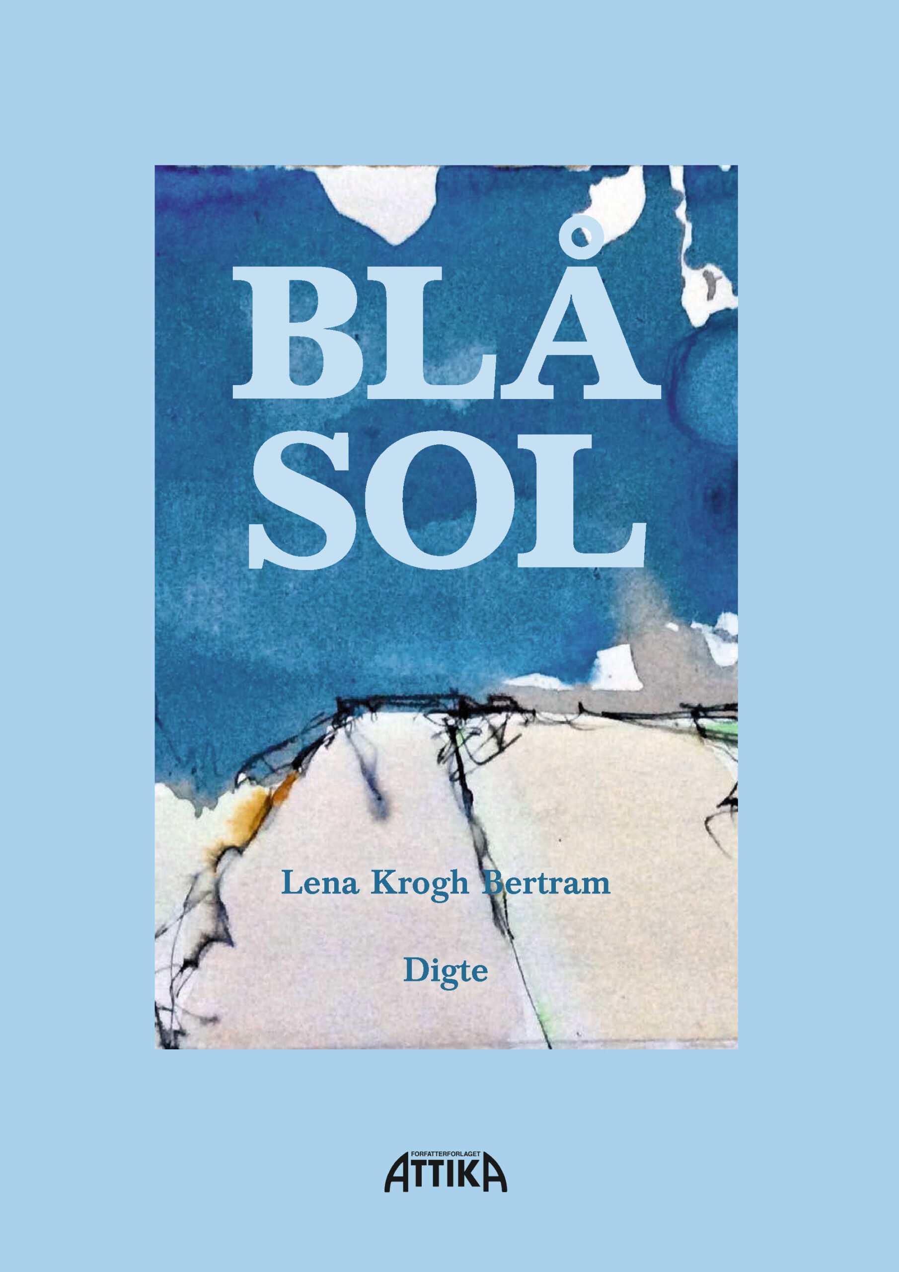 Lena Krogh Bertram: Blå sol